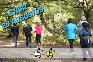 Cursus: Begin met hardlopen met rustig van start op woensdagavond